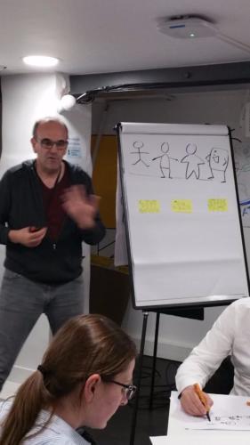 La facilitation graphique pour passer de la BD au Story Board